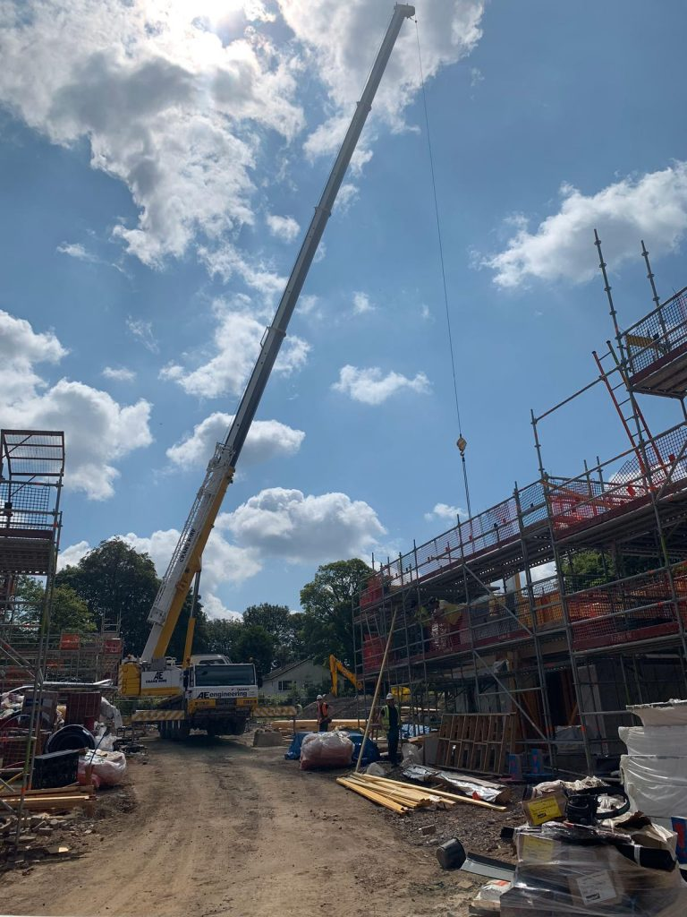 Construction Crane Hire and Contract Lifting