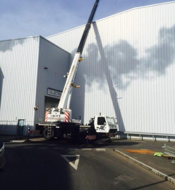 Contract Lifting Solutions in Lancashire