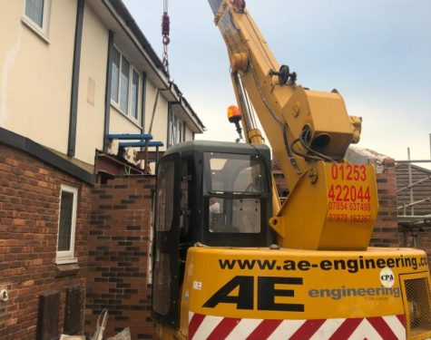 LC755 Mini Cranes for Hire - AE Engineering