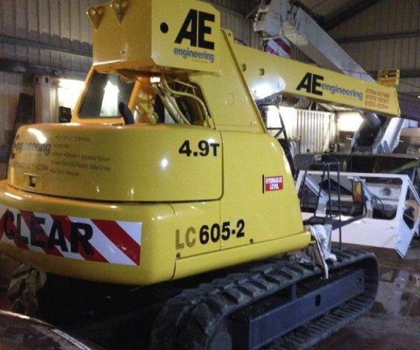 Mini Crawler Cranes For Hire