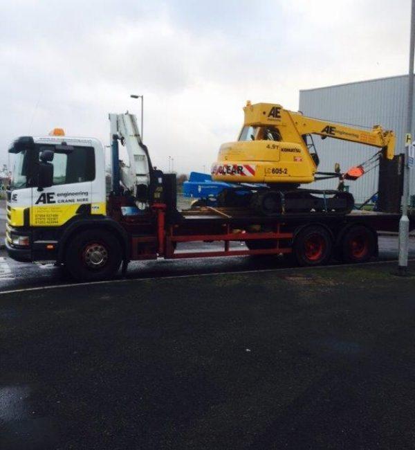 Heavy Machinery Lift & Shift - AE Engineering